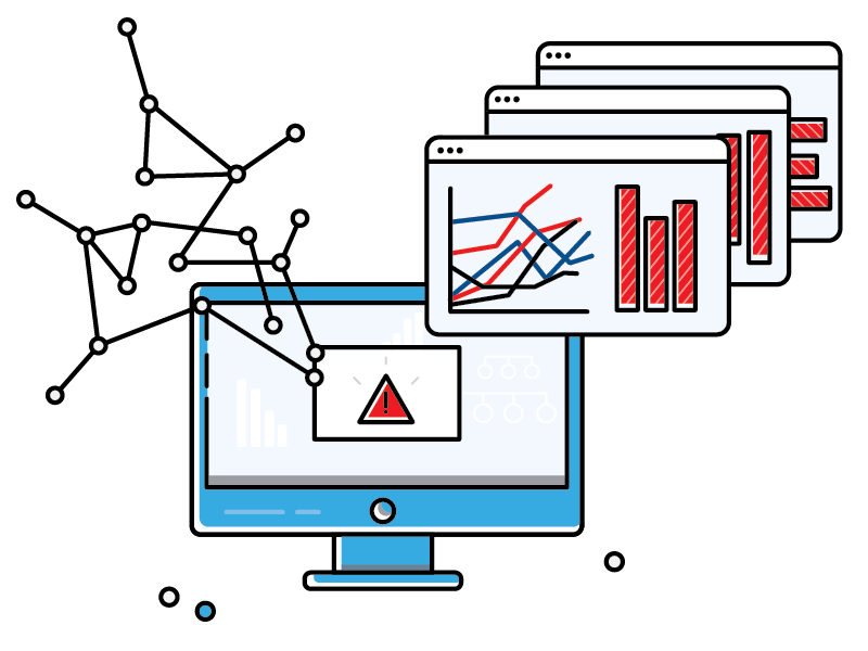 Data Analysis Threat Center Icons by haleigh hoff - Dribbble