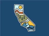 Cali Sticker