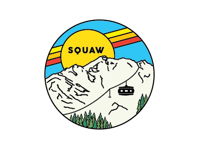 Squaw Badge