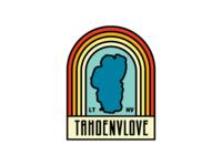 Tahoe Nevada Love Badge Design