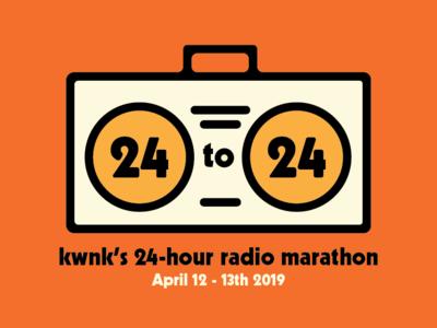 KWNK 97.7fm Radiothon Branding
