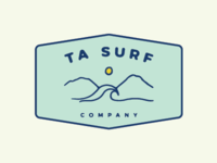 Logo Concept for TA Surf Co