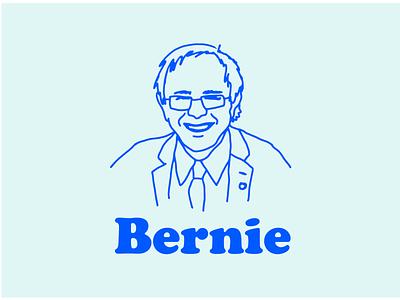 BERNARD SANDERS procreate drawing illustration usa america politics bernie sanders bernie