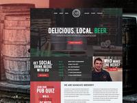 Mankato Brewery Website Concept