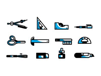 Drafting Icons drawing drafting illustration icon tools