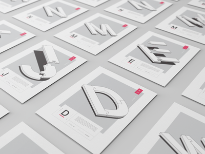 LMNO Posters site web poster behance