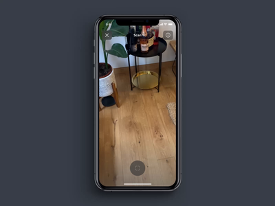 AR: Shipping prototype package apple pay box shipping animation camera ui app mobile ios augmented reality