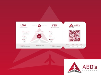 Boarding Pass Daily UI:: 0024 #DailyUI animation minimal app dailyui vector web logo illustration ux ui