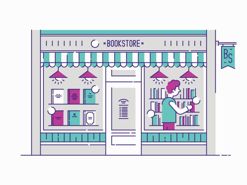 Latvian book market bookstore