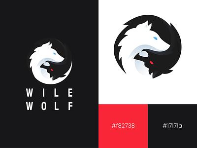 Wile Wolf | Brand minimal konnect app design branding