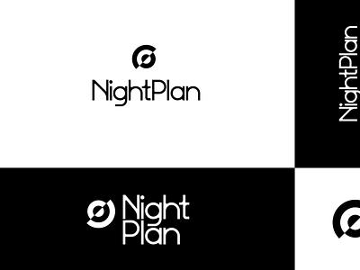 NightPlan | Brand app vector logo illustration ui digital branding minimal design konnect
