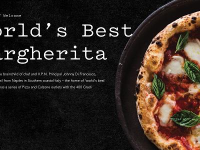 UX/UI Pizza Restaurant website ui ux
