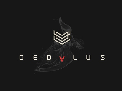 Dedalus Picutres company production university of salford filmmaking production house video production videoproduction icon vector logo design illustration design concept branding digital logo brand