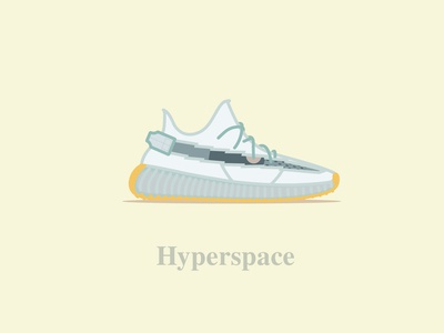 Yeezy Boost 350 - V2 - Hyperspace