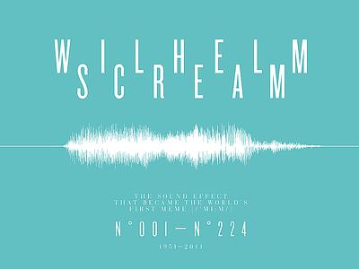 WILHELM SCREAM wilhelm scream 50x70 meme poster