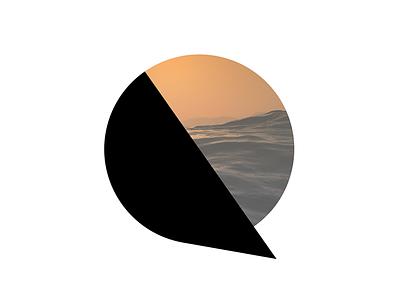 QUDE LOGO dynamic logotype qude