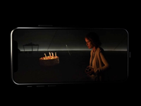 InterFilm ui  ux video player iphone ios mobile imdb kinopoisk movie film design c4d cinema 3d app animation