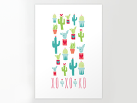 Happy Valentine's Day Cacti