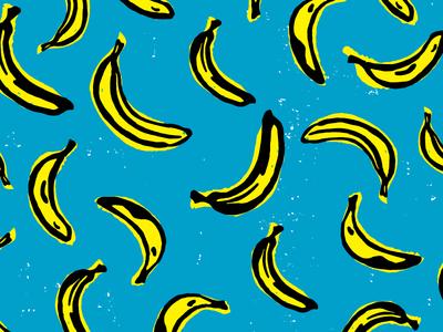 Banana Scatter Pattern