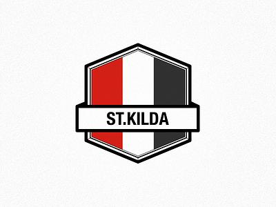 St.Kilda Logo stkilda saints st kilda saints afl australian football manager logo concept badge