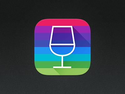 Wine App Icon app icon ios wine concept