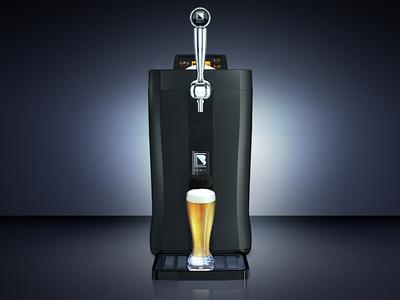 BrewFlo Hero Shot photoshop retouching beer brewart design blender 3d blender 3d
