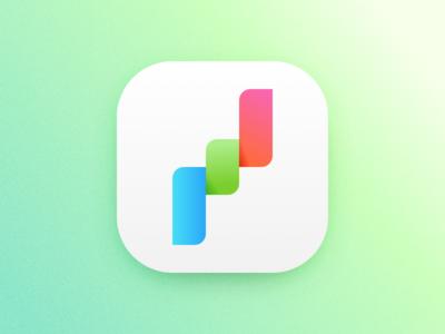 App Icon Concept logo ios illustration identity icon gradients branding app