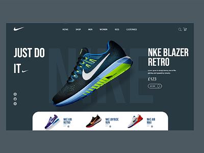 Nike just do it design blazer shop nike design nike running nike air nike nike shoes shoes logo ux design adobe xd ux ui design art ui design 2021