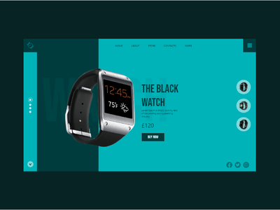 watch ui design webdesign watchos white website web abdur rahman manning watch ui design watch ui watches watch ecommerce design ecommerce ux design ux adobe xd ui design ui art design 2021