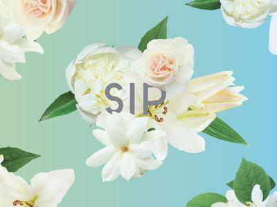 Floral Cup Wrap Design No. 2