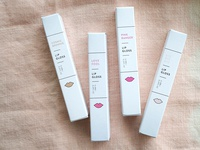 Oui Fresh lip gloss box packaging