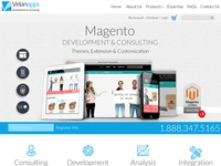 Magento theme for velanapps