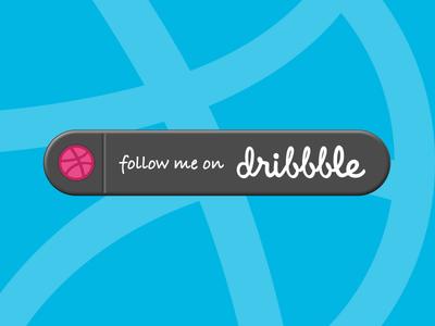 Follow Me On Dribbble