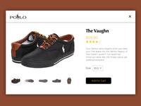 Shoe Shopping - DailyUI #012