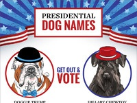 Presidential dog names