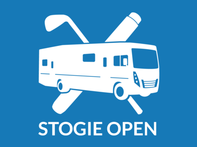 Stogie Open RV Logo vector illustraion logo illustrator golf