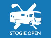 Stogie Open RV Logo vector illustraion logo illustrator golf