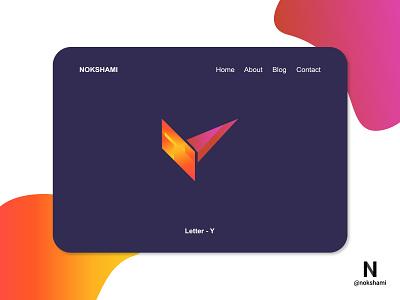 Letter Y modern logo whorahat nokshami logotype logoinspiration logoideas logofolio logodesign logo2021 branding design