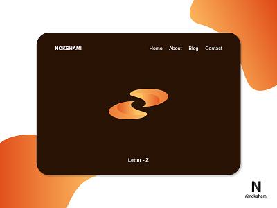 Letter Z modern logo whorahat nokshami logotype logoinspiration logoideas logofolio logodesign logo2021 branding design