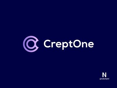 CreptOne (C+O) modern logo logodesign logofolio logoinspiration logoideas whorahat nokshami logo2021 branding design monogram logo monogram letter mark