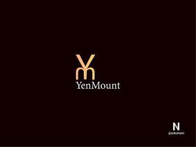 YenMount (Y+M) logofolio branding design logotype whorahat nokshami logoinspiration logoideas logodesign logo2021 monogram monogram letter mark