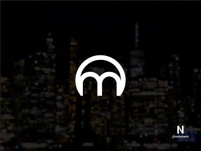 O+M monogram logo logotype whorahat nokshami logoinspiration logoideas logofolio logodesign logo2021 branding design