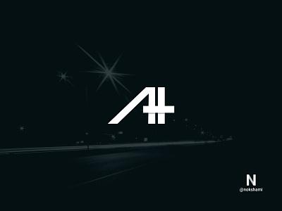 A+H logodesign logofolio monogram logo monogram letter mark nokshami whorahat logoideas logoinspiration logotypes logo2021 branding design