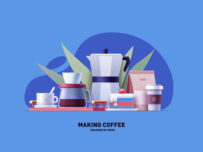Coffee design ui vector illustration ps
