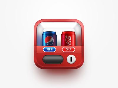 vending machine  cocacola pepesi cola icon ui ps machine vending