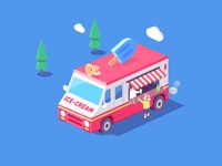 ice-cream car