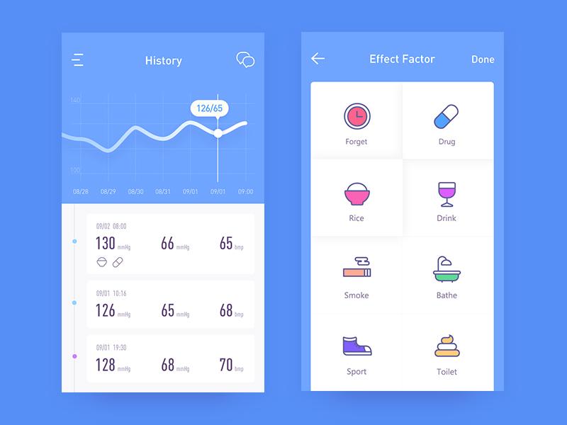 health app 02 app ui health