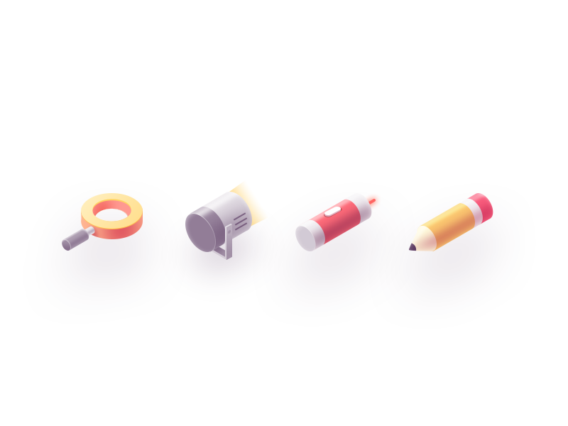 icons ps isometric icons
