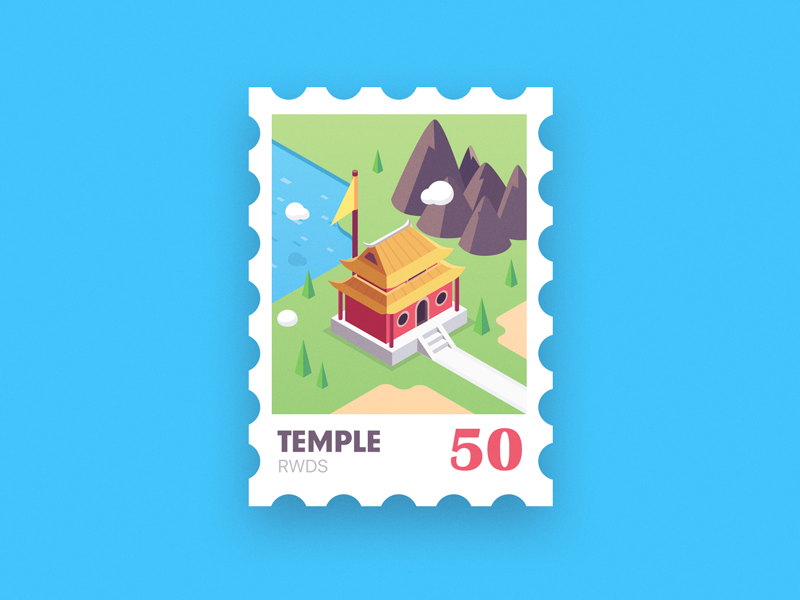 Temple sunwukong monkeyking ps isometric temple