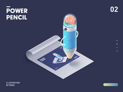 Power pencil